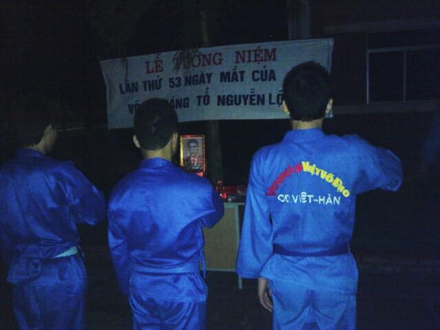 Lễ tưởng niệm Cố võ sư Sáng tổ lần thứ 53 tại Nghệ An