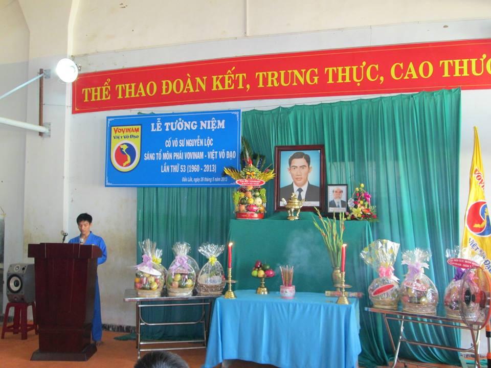 Lễ tưởng niệm Cố võ sư Sáng tổ lần thứ 53 tại Dăk Lăk