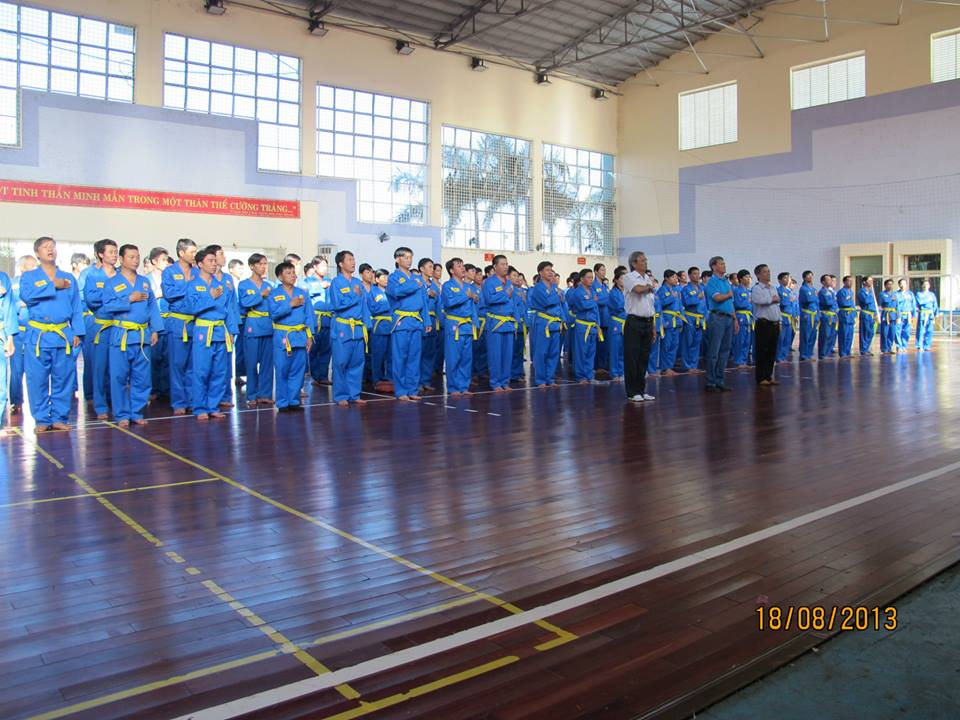 Chương trình Vovinam học đường tỉnh Bình Phước phát huy hiệu quả